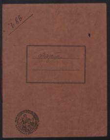 [Wspomnienia S. Maziara dotyczące dziejów Ukraińskiej Armii Halickiej z lat 1919-1920 oraz utwory literackie różnych autorów]