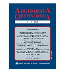 Spis treści [Argumenta Oeconomica, 2020, Nr 1 (44)]