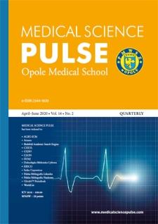 Medical Science Pulse. April-June 2020, Vol. 14, No. 2