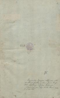 Diariusz oblężenia Zbaraża w 1649 r.