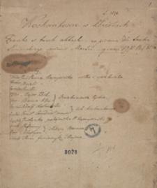 Kochankowie w kłopotach. Fraszka w 3 aktach napisana dla teatru łańcuckiego [...] 1820