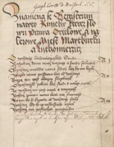 Prawa Ortelowe a nalezowe Miest Maytburgu a Lythomierzicz