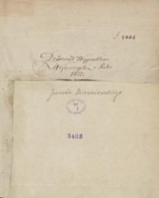 Dziennik wypadków wojennych z roku 1812 [i pobytu w Wilnie w 1813 r.]