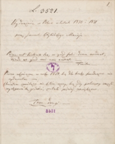 Wydarzenia w Polsce w latach 1830 i 1831. Tom drugi