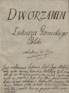 Dworzanin Łukarza Gornickiego Polski