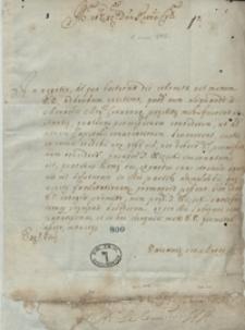 Korespondencja Kazimierza Jana Szczuki biskupa chełmińskiego i Stanisława Szczuki referendarza koronnego z lat 1694-1697