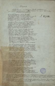 [Notatnik Tymona Zaborowskiego, zawierający m.in. wiersze, fragmenty dramatów i odpisy listów]