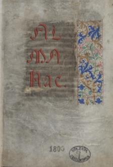 Almanac. Kalendarzyk francuski