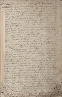 [Formularze dokumentów oraz odpisy akt kościelnych biskupstwa krakowskiego z lat 1552-1670]