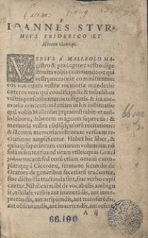 Poeticum Primum volumen [I-VI]