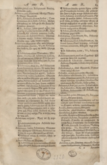 Lexicon Latino Polonicum, Ex Optimis Latinae Linguae Scriptoribus Concinnatum […]. - War. B