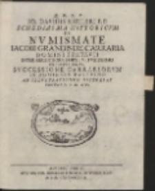 Q.D.B.V. Io. Davidis Koeleri P.P. Schediasma Historicum De Numismate Iacobi Grandis De Carraria [...]