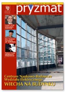 Pryzmat : Pismo Informacyjne Politechniki Wrocławskiej. Luty 2005, nr 186