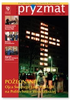 Pryzmat : Pismo Informacyjne Politechniki Wrocławskiej. Kwiecień 2005, nr 189