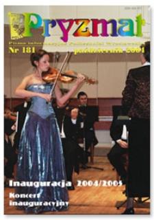 Pryzmat : Pismo Informacyjne Politechniki Wrocławskiej. Październik 2004, nr 181