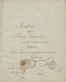 Miasteczko, czyli próżność ukarana. We 3 aktach komedya wierszem, 1826 r. Grana pierwszy raz na Teatrze Narodowym