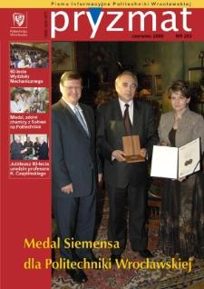 Pryzmat : Pismo Informacyjne Politechniki Wrocławskiej. Czerwiec 2006, nr 203