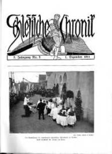 Schlesien : Illustrierte Zeitschrift für die Pflege heimatlicher Kultur. Zeitschrift des Kunstgewerbevereins für Breslau u. die Provinz Schlesien, 5. Jahrgang, 1911, 1 Dezember, Nr 5