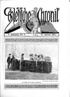 Schlesien : Illustrierte Zeitschrift für die Pflege heimatlicher Kultur. Zeitschrift des Kunstgewerbevereins für Breslau u. die Provinz Schlesien, 5. Jahrgang, 1912, 15 Januar, Nr 8