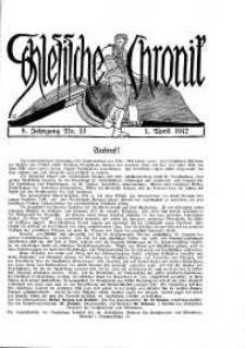 Schlesien : Illustrierte Zeitschrift für die Pflege heimatlicher Kultur. Zeitschrift des Kunstgewerbevereins für Breslau u. die Provinz Schlesien, 5. Jahrgang, 1912, 1 April, Nr 13