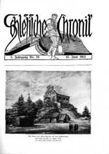 Schlesien : Illustrierte Zeitschrift für die Pflege heimatlicher Kultur. Zeitschrift des Kunstgewerbevereins für Breslau u. die Provinz Schlesien, 5. Jahrgang, 1912, 15 Juni, Nr 18