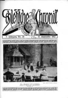 Schlesien : Illustrierte Zeitschrift für die Pflege heimatlicher Kultur. Zeitschrift des Kunstgewerbevereins für Breslau u. die Provinz Schlesien, 5. Jahrgang, 1912, 15 September, Nr 24