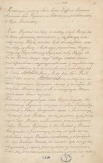 [Kopiariusz listów, mów, akt publicznych i innych materiałów odnoszących się do spraw politycznych Polski z lat 1769-1771]