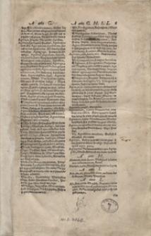 Lexicon Latino Polonicum Ex Optimis Latinae Linguae Scriptoribus Concinnatum […]. - War. A