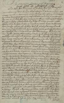 [Miscellanea zawierające odpisy listów, mów, akt publicznych i innych materiałów odnoszących się do spraw politycznych Polski z lat 1681-1713]