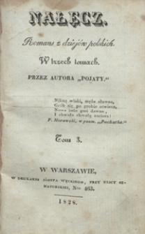 Nałęcz : romans z dziejów polskich : w trzech tomach. Tom 3