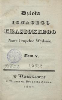 Dzieła Ignacego Krasickiego