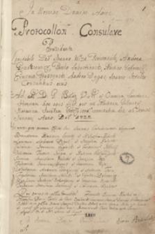 [Akta wójtowskie i radzieckie miasta Grodziska 1722-1728]
