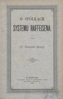 O spółkach systemu Raiffeisena