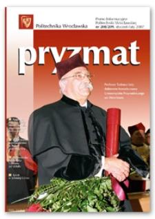 Pryzmat : Pismo Informacyjne Politechniki Wrocławskiej. Styczeń-luty 2007, nr 208/209