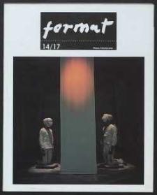 Format : pismo artystyczne, 1994, nr 1-4 (14-17)