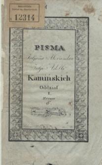 Matylda : powieść szkocka z dzieł Pfeffela. Zeszyt I