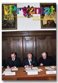 Pryzmat : Pismo Informacyjne Politechniki Wrocławskiej. Kwiecień 2004, nr 177
