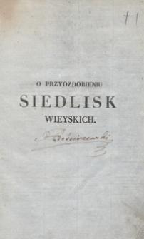 O przyozdobieniu siedlisk wieyskich : rzecz zastosowana do Polski. Tom 2