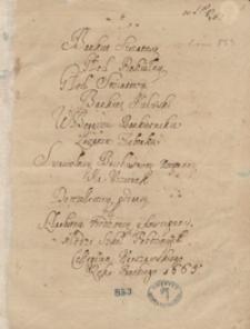 [Gazety pisane z Warszawy, Drezna i innych miejscowości z lat 1745-1749 oraz różne pisma]
