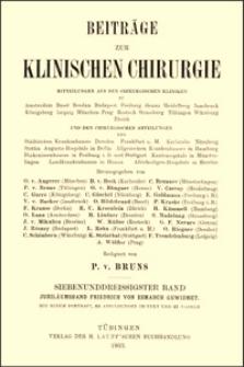 Ueber einen mit Röntgenstrahlen erfolgreich behandelten Fall von Brustdrüsenkrebs, Beiträge zur Klinischen Chirurgie, 1903, Bd. 37, S. 676-697