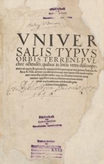 Cosmographiae universalis Lib. VI. […]