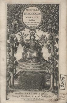 Medulla Theologiae Moralis [...]