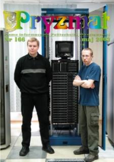 Pryzmat : Pismo Informacyjne Politechniki Wrocławskiej. Maj 2003, nr 166