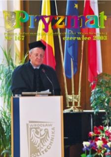 Pryzmat : Pismo Informacyjne Politechniki Wrocławskiej. Czerwiec 2003, nr 167