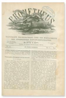 Prometheus : Illustrirte Wochenschrift über die Fortschritte der angewandenten Naturwissenschaften. 1. Jahrgang, 1890, Nr 14