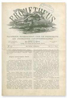 Prometheus : Illustrirte Wochenschrift über die Fortschritte der angewandenten Naturwissenschaften. 1. Jahrgang, 1890, Nr 19