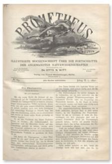 Prometheus : Illustrirte Wochenschrift über die Fortschritte der angewandenten Naturwissenschaften. 2. Jahrgang, 1891, Nr 69