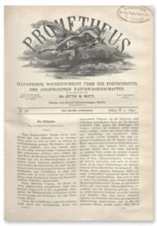 Prometheus : Illustrirte Wochenschrift über die Fortschritte der angewandenten Naturwissenschaften. 2. Jahrgang, 1891, Nr 76
