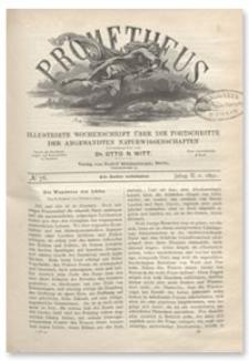 Prometheus : Illustrirte Wochenschrift über die Fortschritte der angewandenten Naturwissenschaften. 2. Jahrgang, 1891, Nr 78