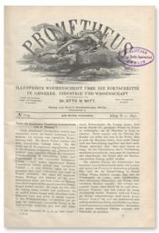 Prometheus : Illustrirte Wochenschrift über die Fortschritte in Gewerbe, Industrie und Wissenschaft. 2. Jahrgang, 1891, Nr 104